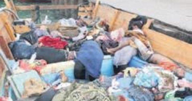 Yemen'de göçmen teknesine saldırı: 33 ölü
