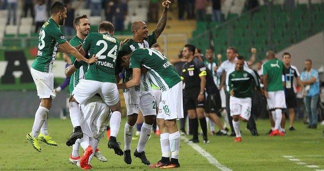 Bursaspor-Kayserispor: 3-1