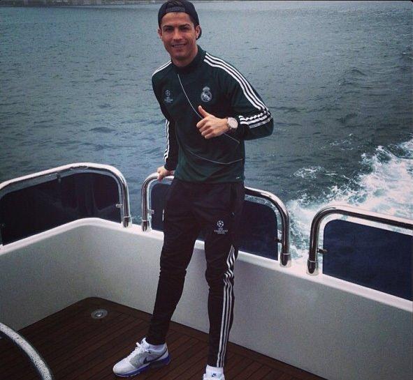 Ronaldo'nun Boğaz keyfi