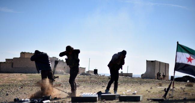 Fırat Kalkanı'nda DEAŞ'ın 93 hedefi imha edildi