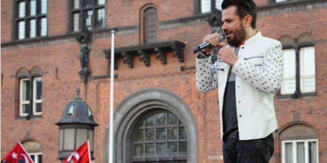 Kenan Doğulu ve Beren Saat Kopenhag'da