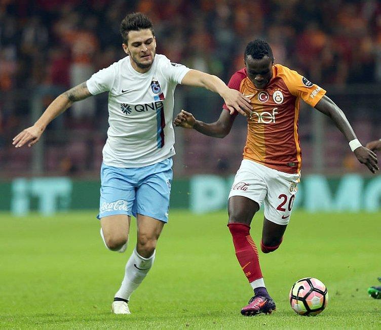 Galatasaray-Trabzonspor maçından kareler