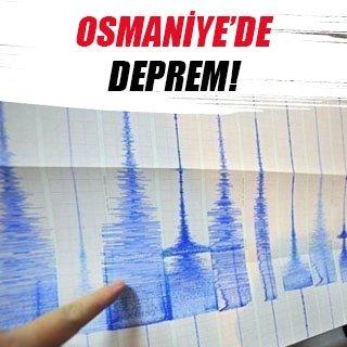 Kadirli'de 3.3 büyüklüğünde deprem