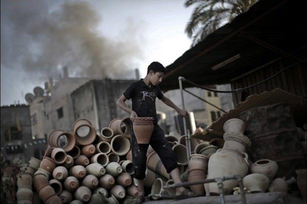 Gazze'de bir çömlek hikayesi