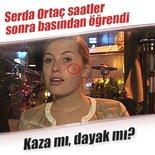Serdar Ortaç eşinin geçirdiği kazayı saatler sonra basından öğrendi