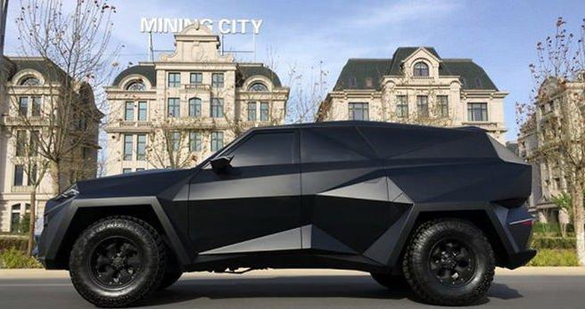Çin'den garip SUV konsepti!