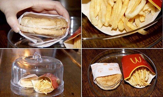 Bu hamburgerlerde ne var