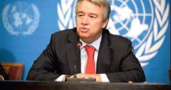 Birleşmiş Milletler Guterres isminde uzlaştı