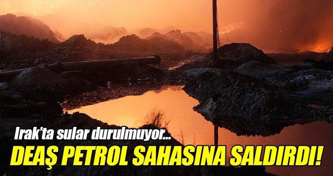 Irak'ta DEAŞ'tan petrol sahasına saldırı!