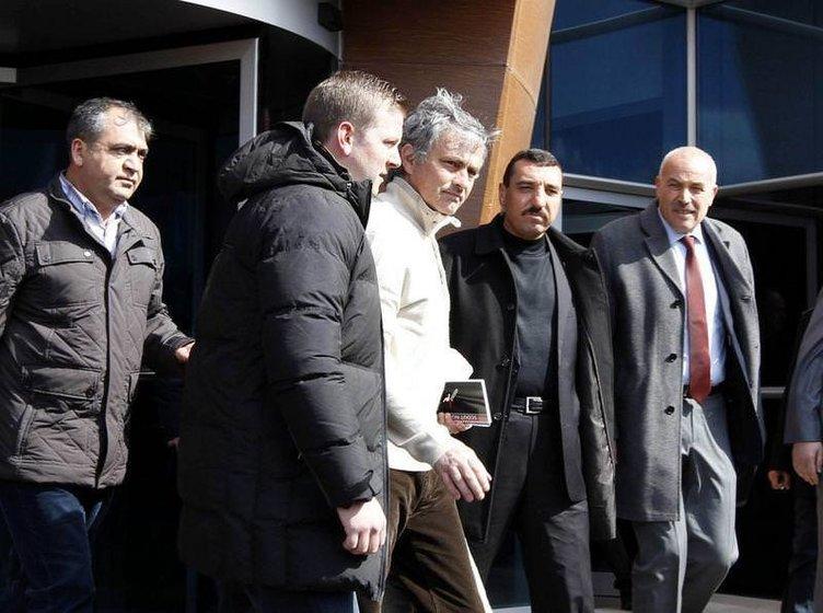 Mourinho Kayseri'ye geldi