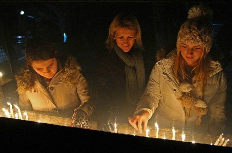 Beyoğlu'nda Noel ayini