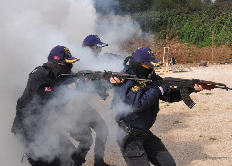 Terörle mücadele kahramanlarına eğitim