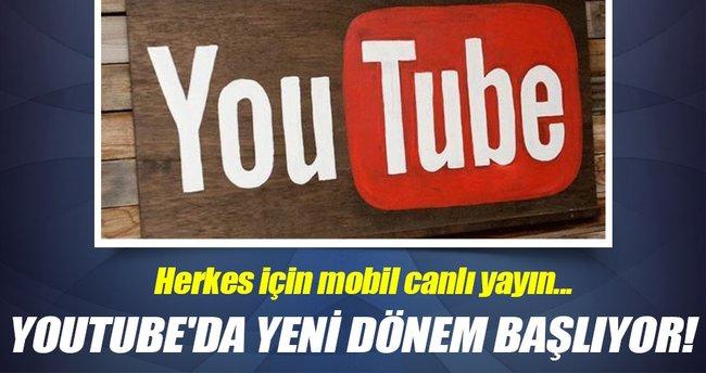 YouTube'dan bir yenilik daha!