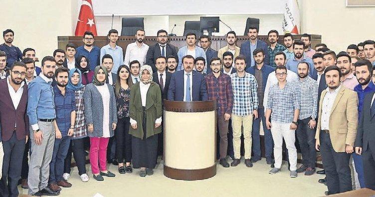 Kahramanmaraş'a gençlik meclisi