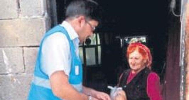 Erdemli Diyanet Vakfı 'İyilik Dağıtıyor'