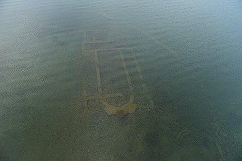 İznik Gölü'nün altında tarihi keşif