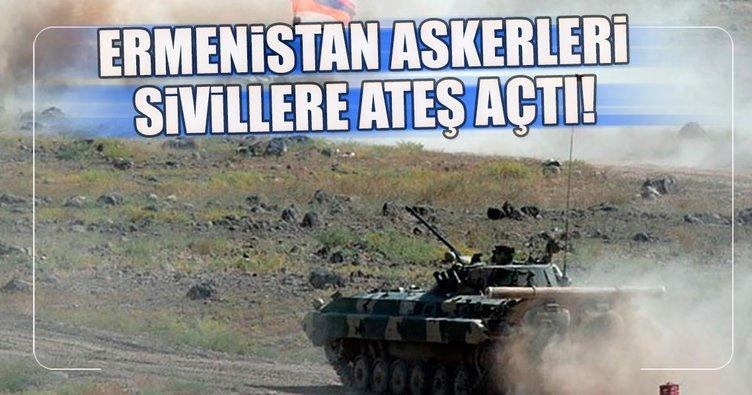 Ermenistan askerleri sivillere ateş açtı: 1'i bebek 2 kişi hayatını kaybetti