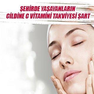 Şehirde yaşayanların cildine C vitamini takviyesi şart