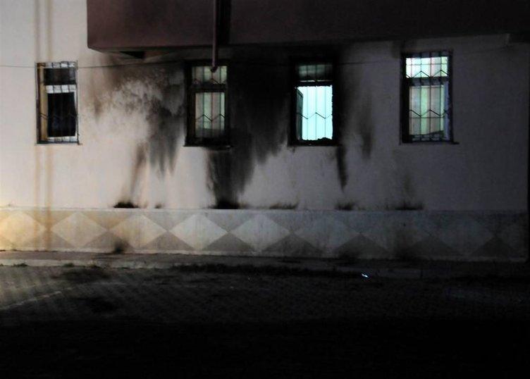 Okullara molotoflu saldırı