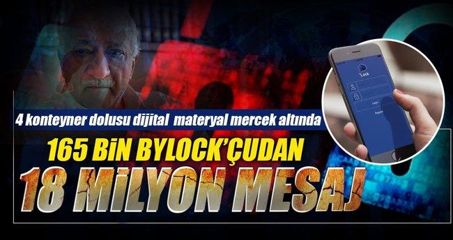 165 bin ByLockçu'dan 18 milyon mesaj