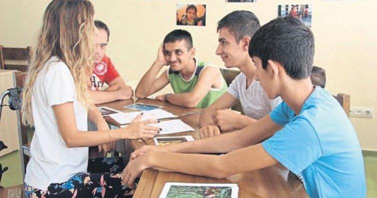 Engellilere yaz okulu