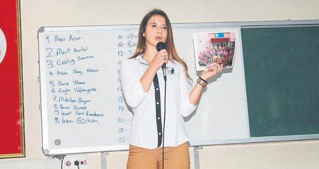 Çukurova'nın öğrenci meclis başkanı Başak