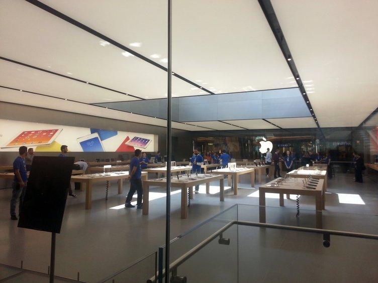 İşte Türkiye'deki İlk Apple Store mağazası