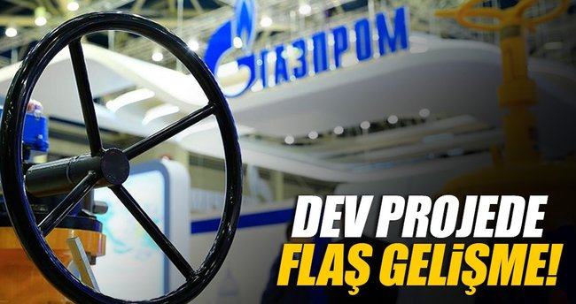 Gazprom, Türk Akımı'nın inşaatıyla ilgili ilk izni aldı