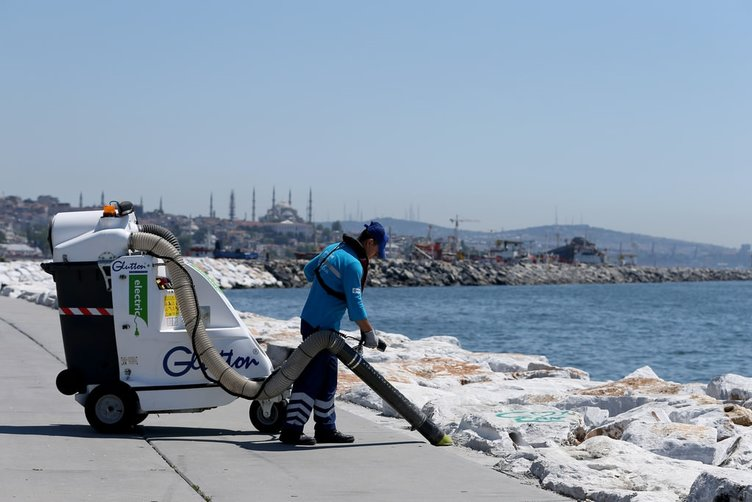 Denizi kirletenlere İHA'lı önlem!