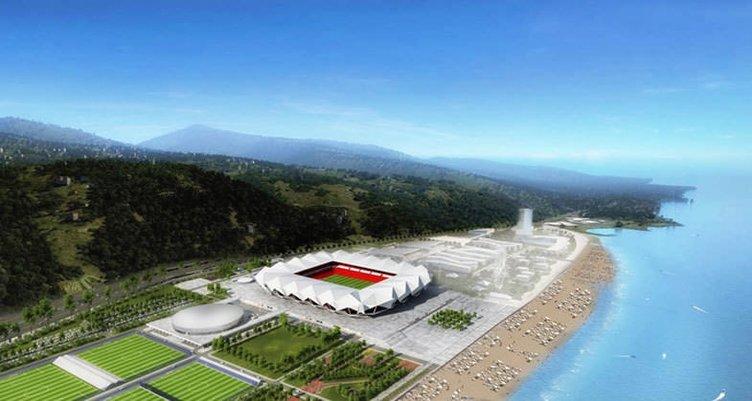 İşte Trabzonspor'un yeni stadı