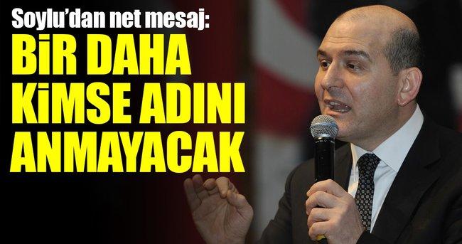 HATAY'DA İÇİŞLERİ BAKANI SÜLEYMAN SOYLU'DAN NET PKK MESAJI!