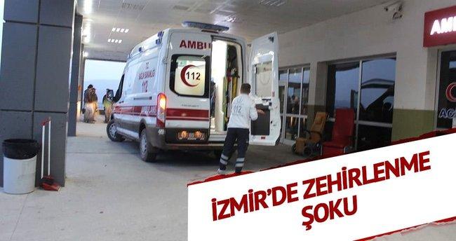 İzmir'de zehirlenme şoku