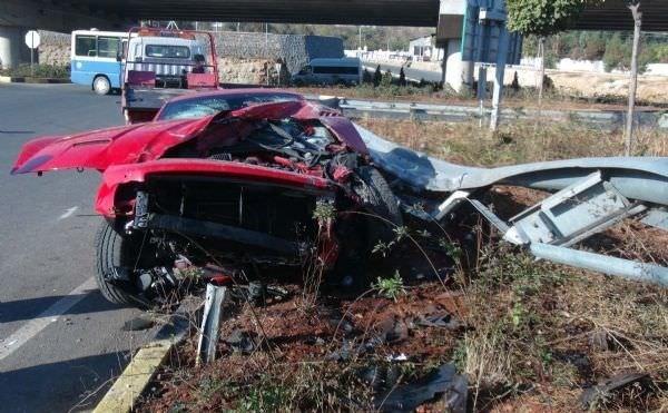 Gaziantepsporlu Artem Milevskiy kaza geçirdi