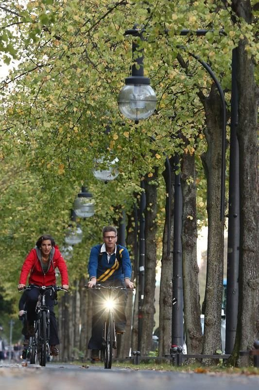 Berlin'de sonbahar büyülüyor