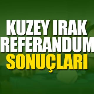 Kuzey Irak referandum sonuçları belli oldu mu? - Referandum sonuçları evet mi hayır mı çıktı? İşte yanıtı