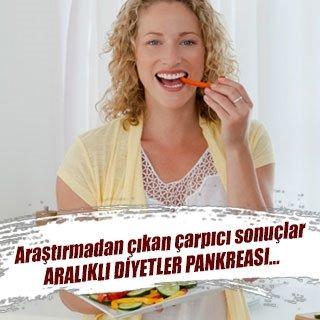 Aralıklı diyetler pankreası…