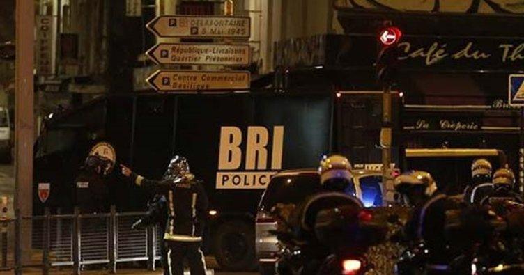 Paris'te silah sesleri: 1 polis öldü, 1 polis yaralandı