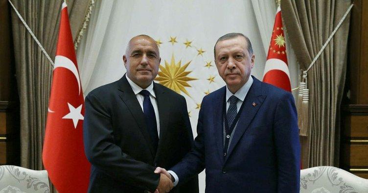 Cumhurbaşkanı Erdoğan Borisov'u kabul etti