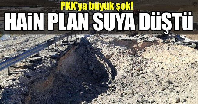 Mardin'de karayoluna tuzaklanan patlayıcı imha edildi!
