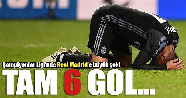 Devler Ligi'nde Real Madrid'e büyük şok!