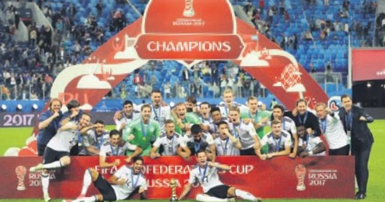 Almanya şampiyon