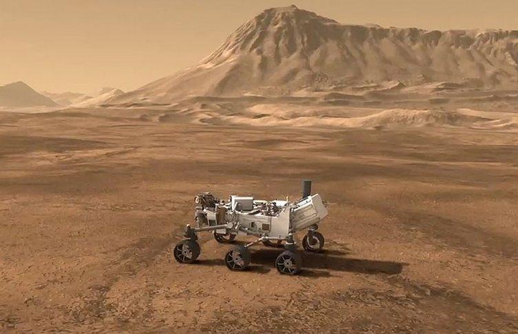 Mars'ta öyle bir şey buldular ki...