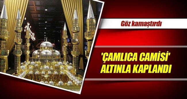 Altından 'Çamlıca Camisi'