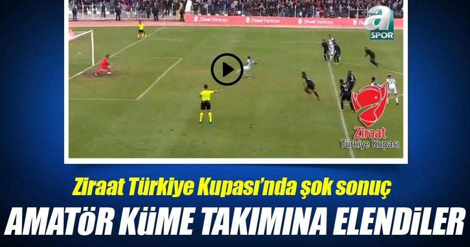 Yeni Amasyaspor'dan kupada tarihi başarı!