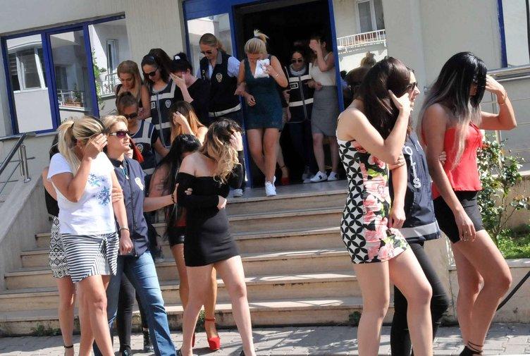Yalova'da fuhuş operasyonu: 73 gözaltı
