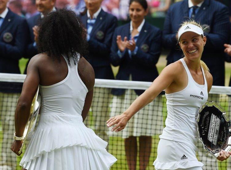 Wimbledon'ın şampiyonu Serena Williams
