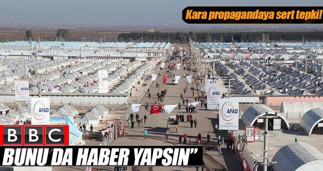 BBC haber yapacaksa Türkiye'nin ev sahipliğini haber yapsın