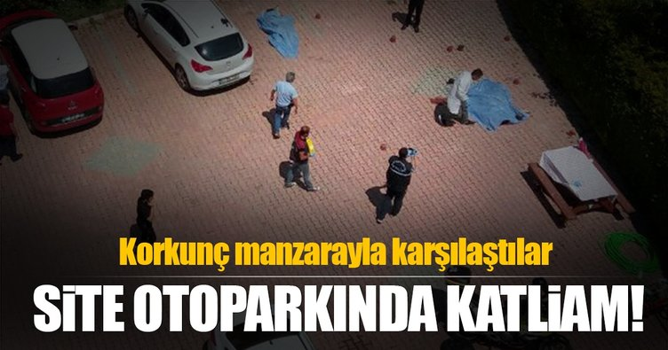 Antalya'da sitede katliam gibi kavga!