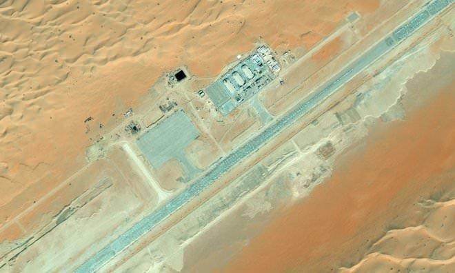 ABD'nin gizli üssü Bing Maps'te ortaya çıktı