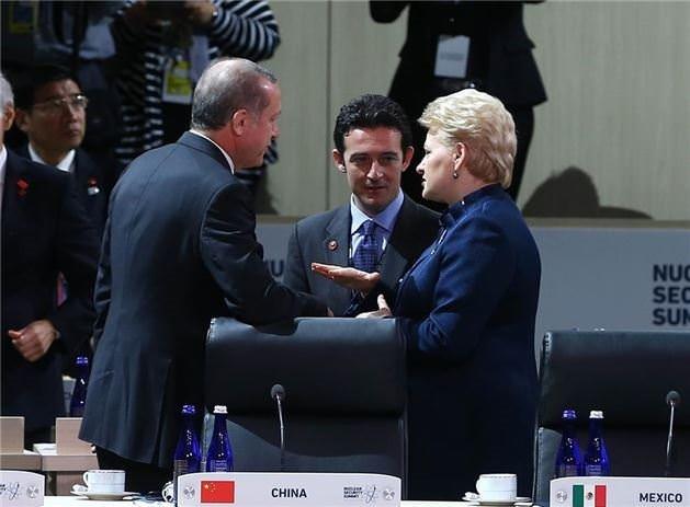 Cumhurbaşkanı Erdoğan dünya liderleriyle buluştu